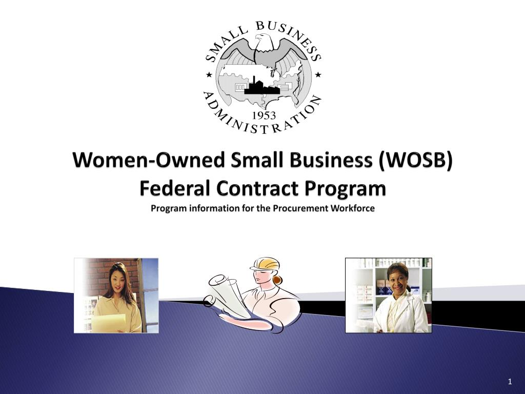 Women-Owned Small Business (WOSB)