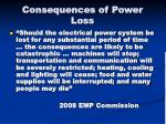 consequences of power loss