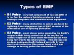 types of emp