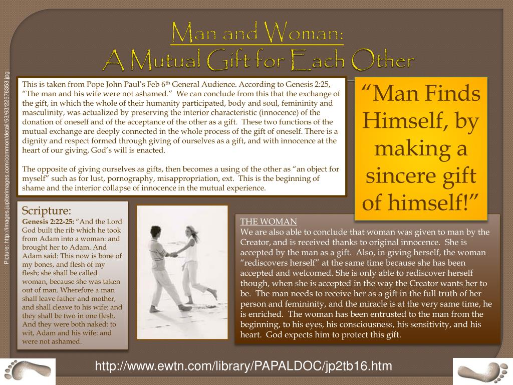 Man and Woman: