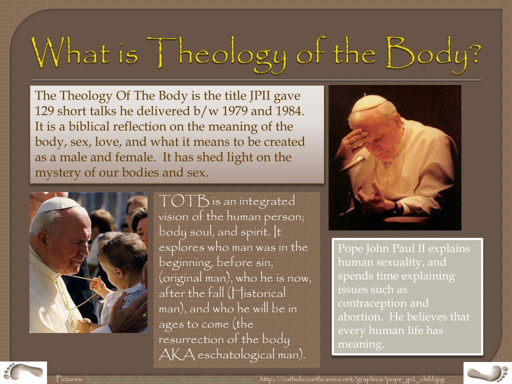 What is Theology of the Body?