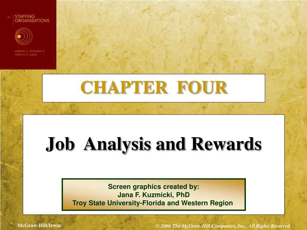 chapter 4 job analysis Functional-based job analysis means describing the job in terms of the measurable, observable, behavioral competencies that an employee doing that job must exhibit to do the job well f competency-based job analysis is more worker-focused than traditional job analysis.