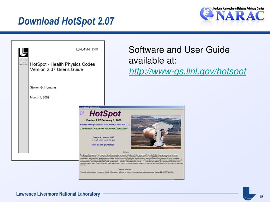 Download HotSpot 2.07