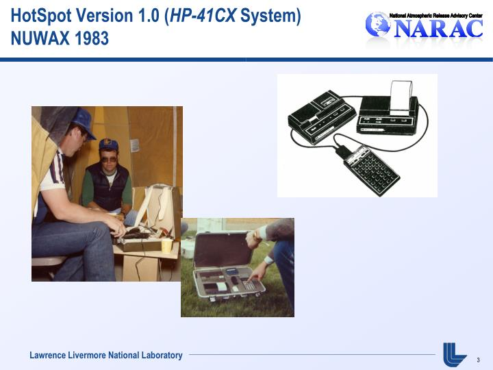 Hotspot version 1 0 hp 41cx system nuwax 1983