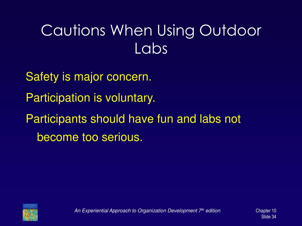 Cautions When Using Outdoor Labs