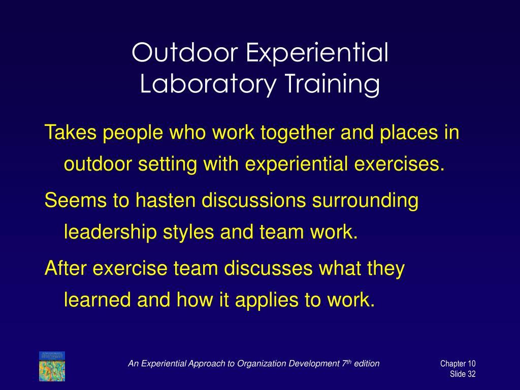 Outdoor Experiential