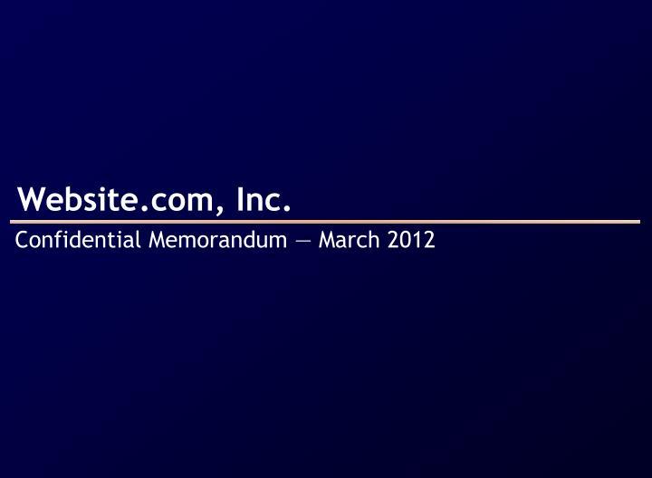 Website com inc