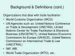 background definitions cont6