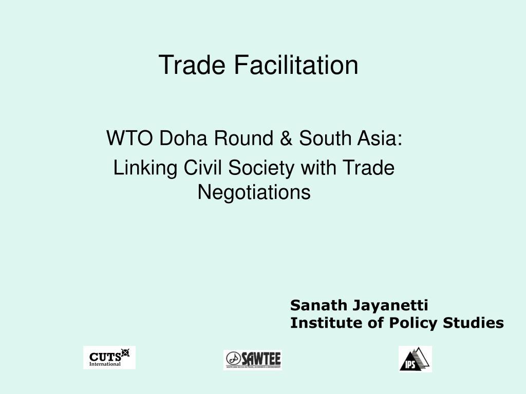 trade facilitation l.