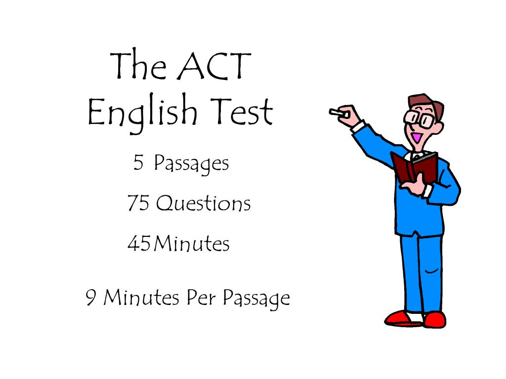 the act english test l.