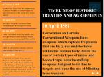 timeline of historic treaties and agreements27