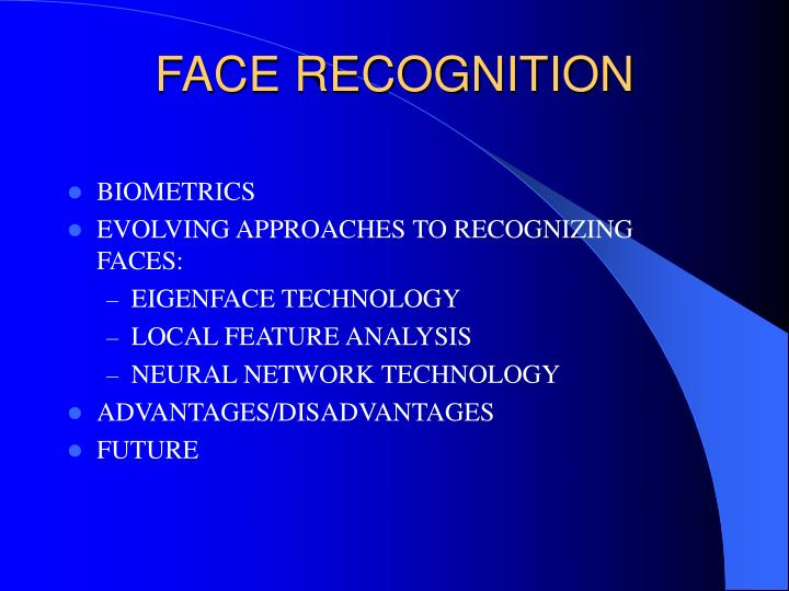 Face recognition1