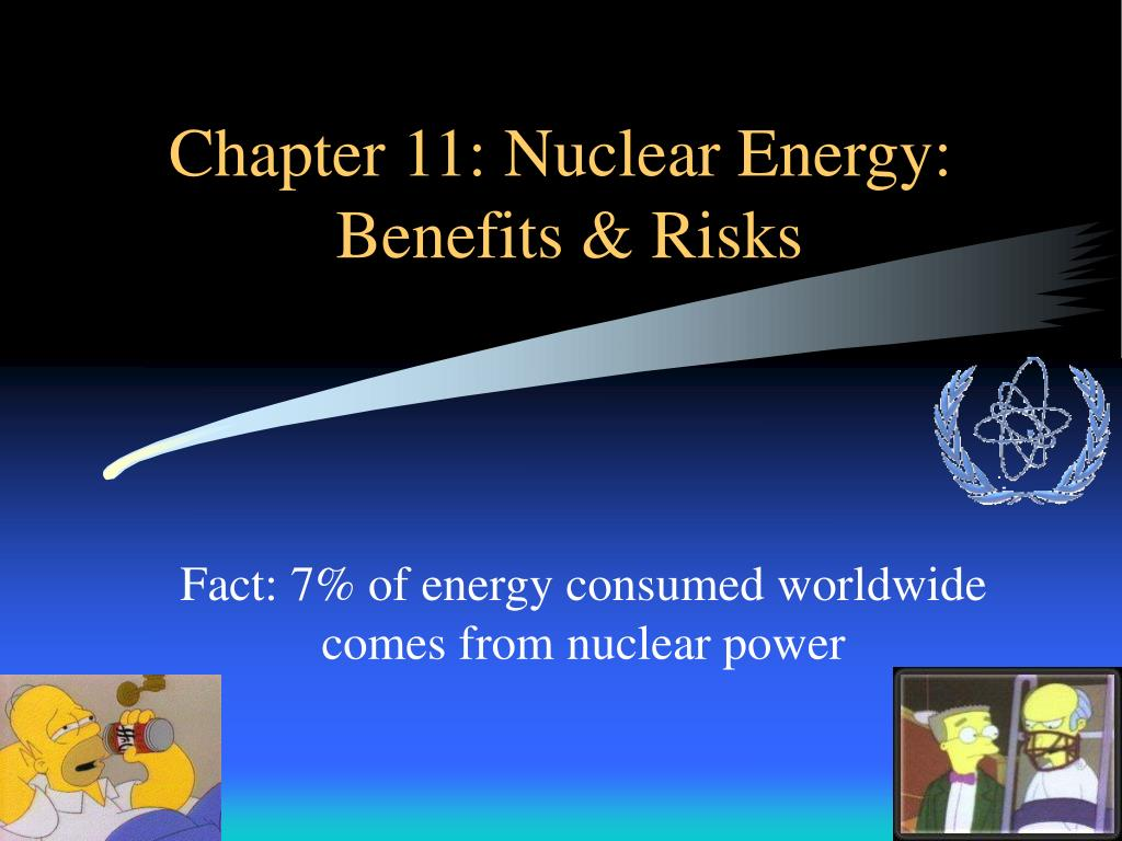chapter 11 nuclear energy benefits risks l.