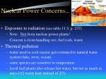 nuclear power concerns12