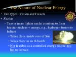 the nature of nuclear energy