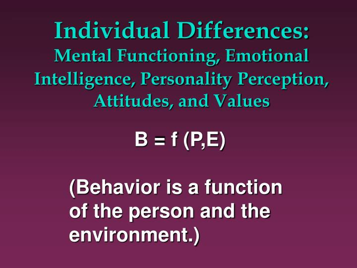 """effects of racial discrimination to ones mental and emotional intelligence Research indicates that emotional intelligence has predictive validity """"in domains such as academic performance, job performance, negotiation, leadership, emotional labor."""