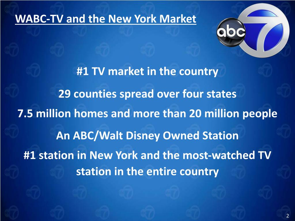 WABC-TV and the New York Market