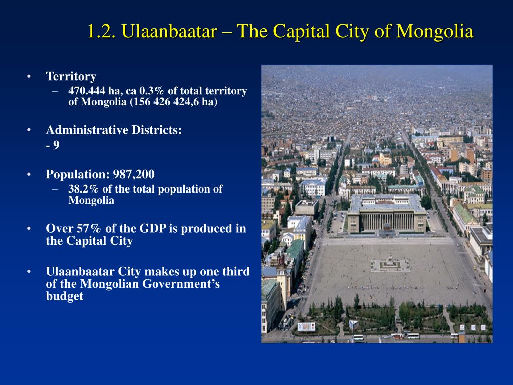 1.2. Ulaanbaatar – The Capital City of Mongolia