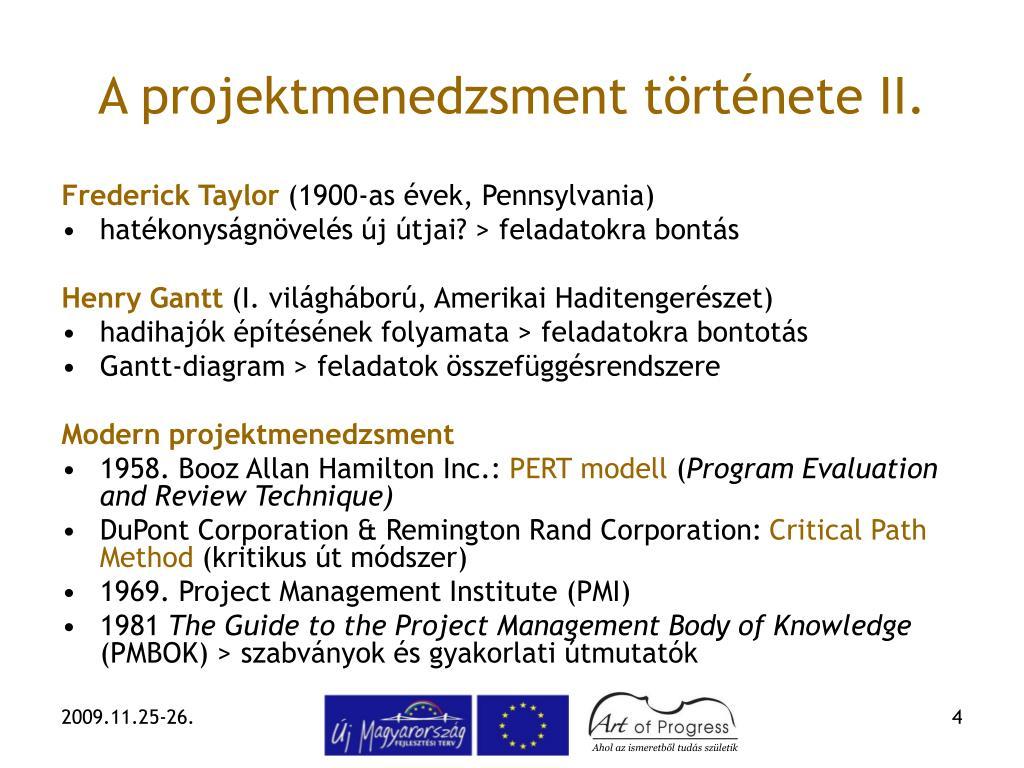 Ppt Projektmenedzsment Powerpoint Presentation Free Download Id 325674