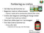 forklaring av crohns