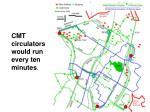 cmt circulators would run every ten minutes
