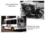 jitney shared taxi usa 1915