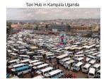 taxi hub in kampala uganda