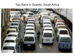 taxi rank in soweto south africa