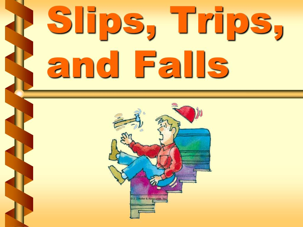 ppt - slips  trips  and falls powerpoint presentation