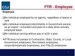 ftr employee