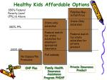 healthy kids affordable options