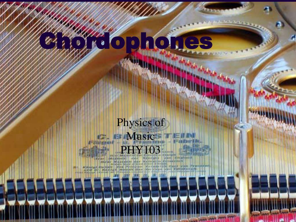 chordophones l.