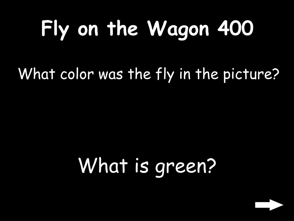 Fly on the Wagon 400