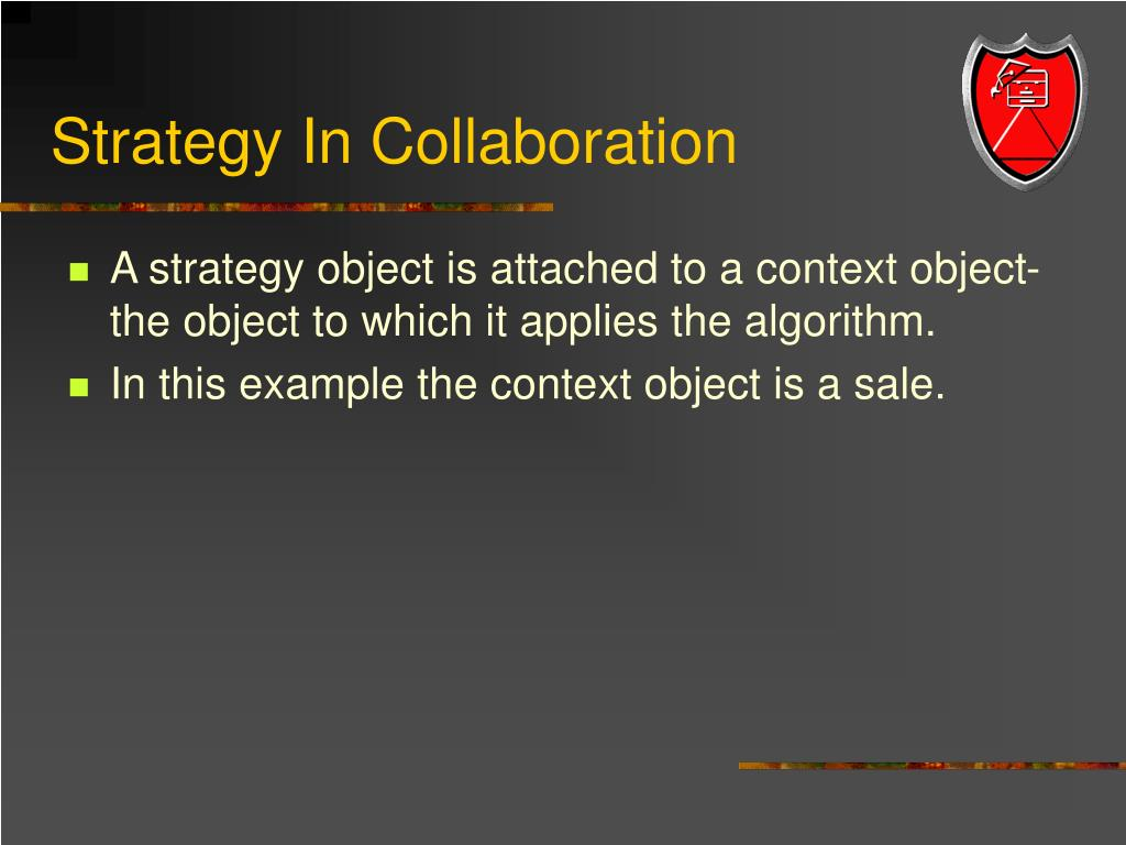 Strategy In Collaboration