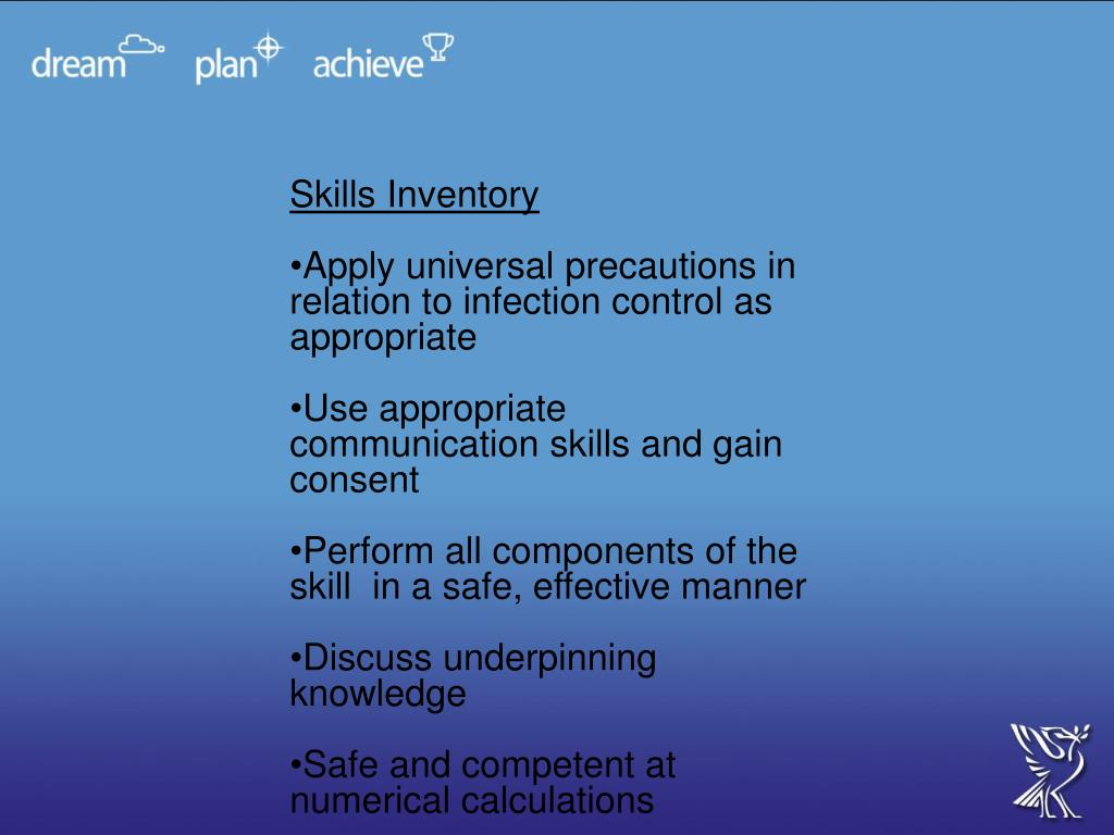 Skills Inventory
