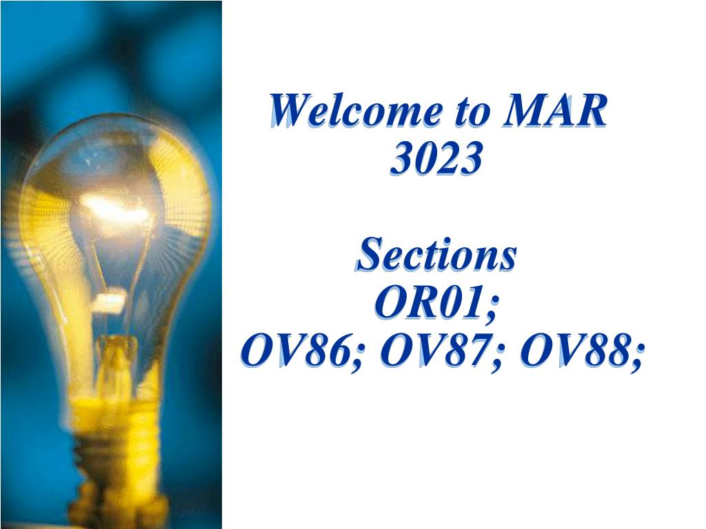 welcome to mar 3023 sections or01 ov86 ov87 ov88 l.