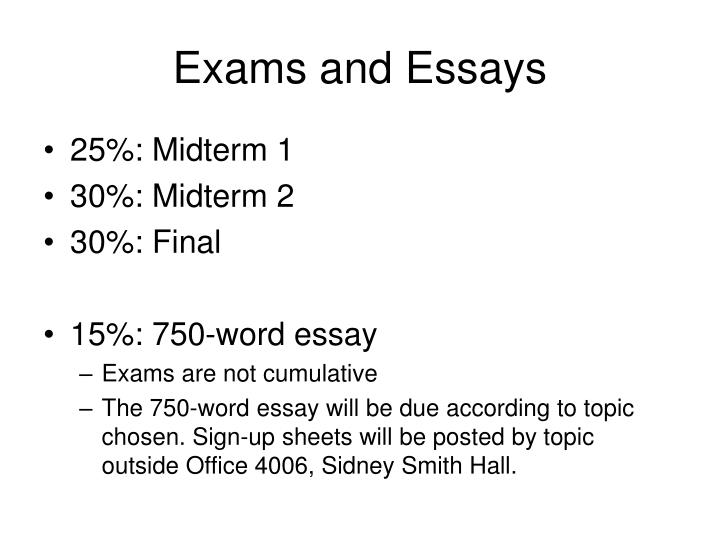 midterm exam essay Midterm exam please respond to the following questions in a cohesive essay save your document and submit it to safe assign your answer needs to be in your own words.