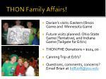 thon family affairs