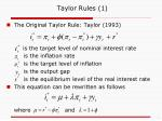 taylor rules 1