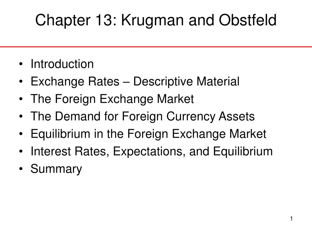 chapter 13 krugman and obstfeld l.