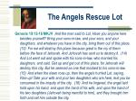 the angels rescue lot