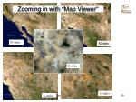 zooming in with map viewer