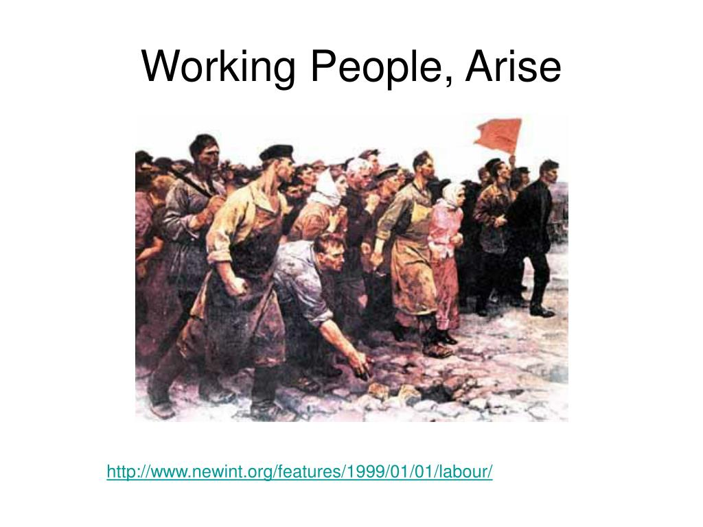 working people arise l.