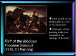 raft of the medusa theodore gericault 1818 oil painting