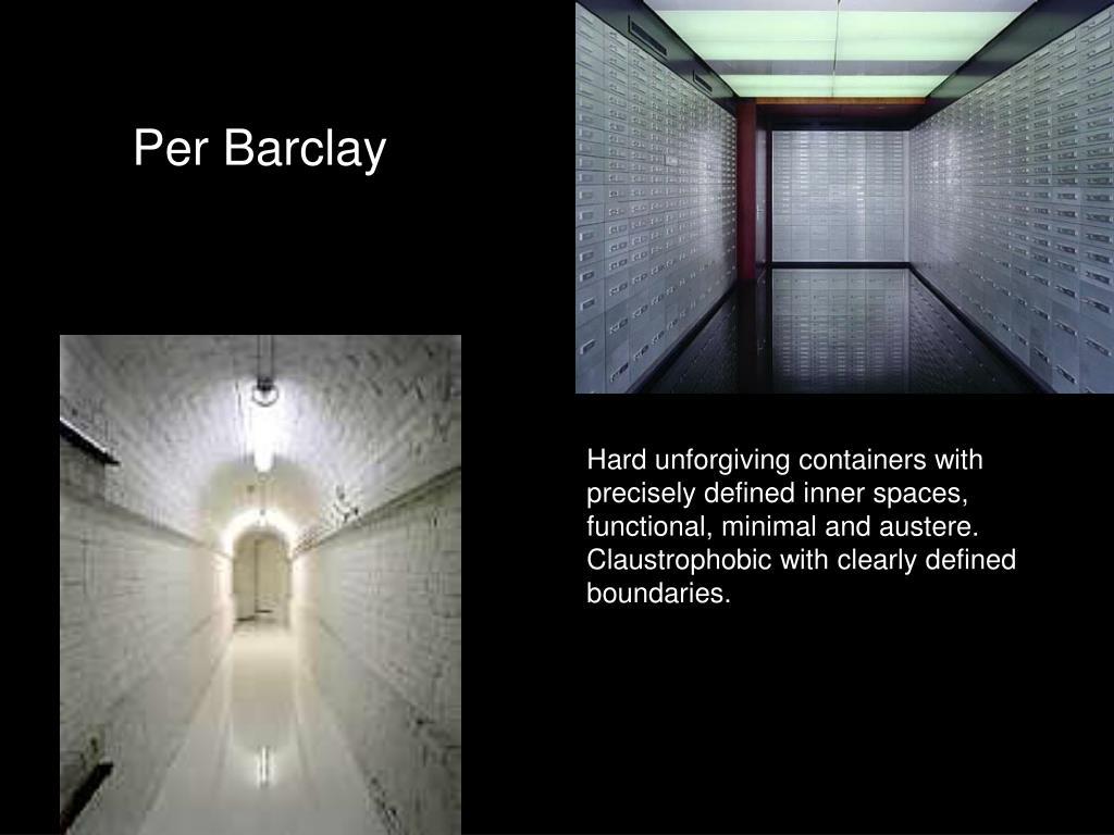 Per Barclay