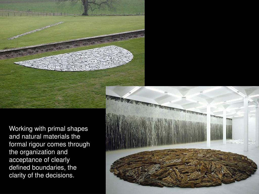 Working with primal shapes and natural materials the formal rigour comes through the organization and acceptance of clearly defined boundaries, the clarity of the decisions.