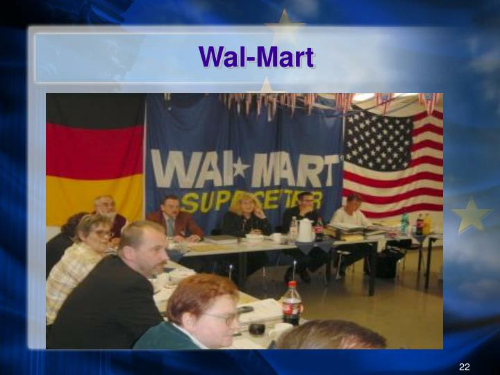 Labor relations and wal mart
