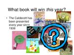 what book will win this year