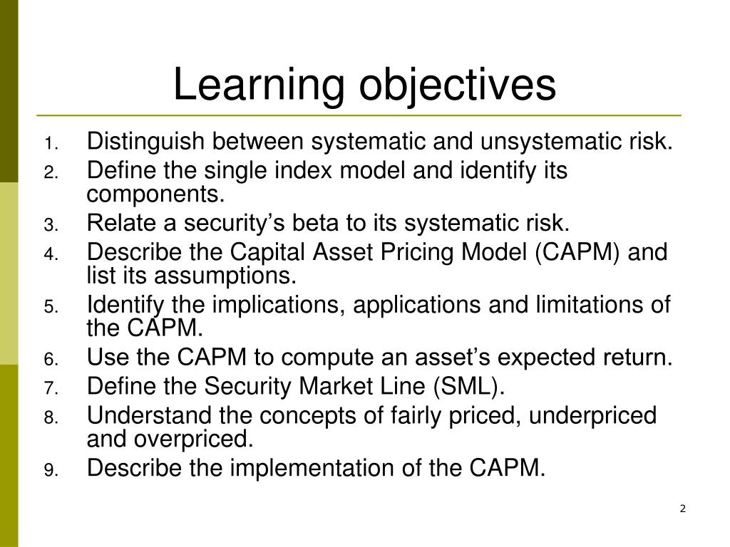 distinguish between systematic and unsystematic risk with suitable examples Most observation studies begin with casual observation and then use systematic procedures for data nevertheless, casual observation can be an important first step in many behavioral studies example you must keep track of the number of different individuals taking the risk.
