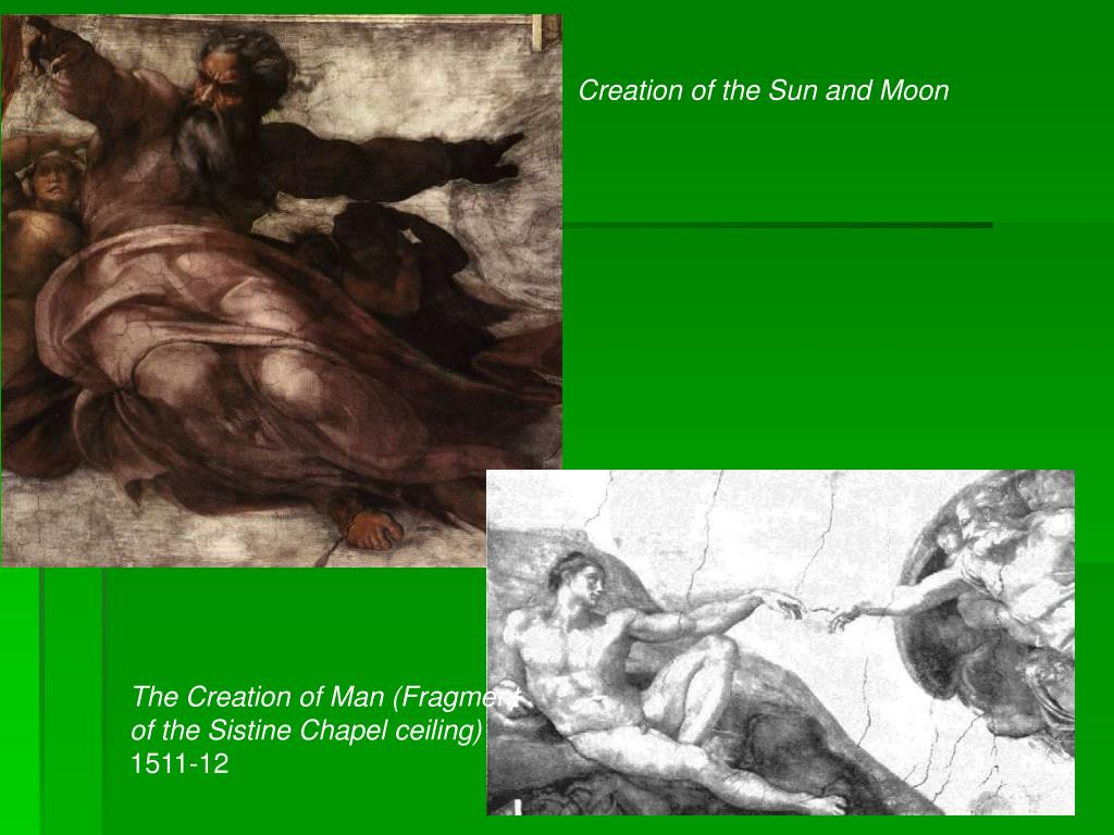 Creation of the Sun and Moon